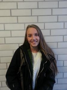 Wade, Emma 13 år Posisjon: Midtstopper Klubb: SK Haugar Lag: J13