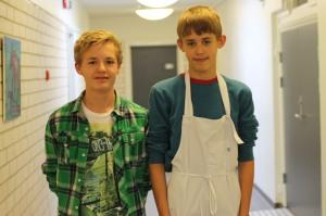 Nils og Jørgen Fjon Foto: Miranda Ramadani