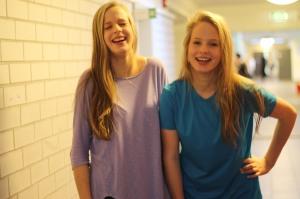 Nora og Hedda Elholm-Hansen  Foto: Miranda Ramadani
