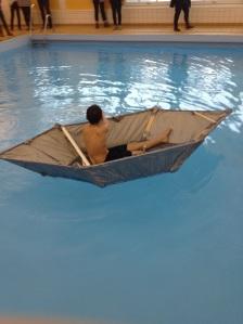 Ideen til den store båten var oppfunnet av Øystein 8F