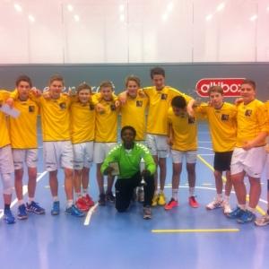 Dette var fjorårets lag som tok gull! Foto: Mathias Brandt