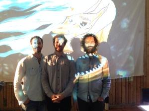 (t.v) Eylof Dale, Andreas og Andrè Roligheten.