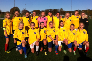 Dette er årets skolelag i fotball for jenter!